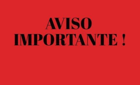 ATENÇÃO: Hospital de Caridade de Três Passos comunica que suspendeu cirurgias eletivas e somente serão prestados atendimentos de Urgência e Emergência classificados como vermelho e amarelo.