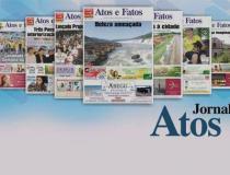 Manchetes do Jornal Atos e Fatos circulando nesta sexta-feira em Três Passos e toda a Região Celeiro