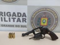 7° BPM prende homem por porte ilegal de arma de fogo em Três Passos