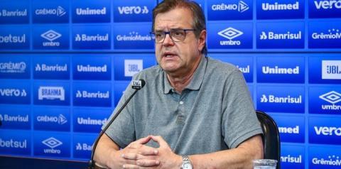 Marcos Herrmann não é mais vice-presidente de futebol do Grêmio