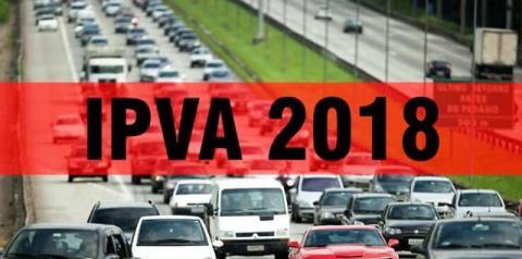 Últimos dias para quitar o IPVA 2018 com desconto máximo de 20,8%