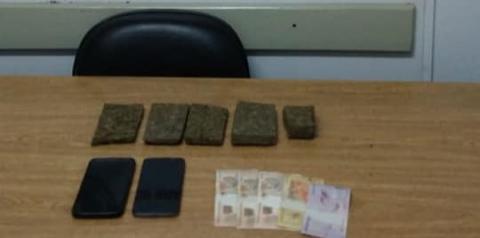 Brigada Militar prende homens por tráfico de drogas em Crissiumal