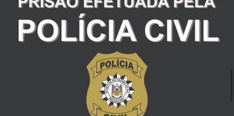 POLÍCIA CIVIL PRENDE HOMEM POR ESTUPRO DE VULNERÁVEL EM TRÊS PASSOS