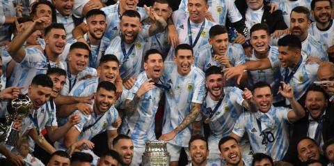 Argentina conquista 15° troféu na Copa América