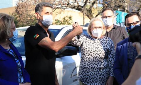 Governo do RS entregou 25 novos veículos para qualificar o trabalho da Secretaria Estadual da Saúde
