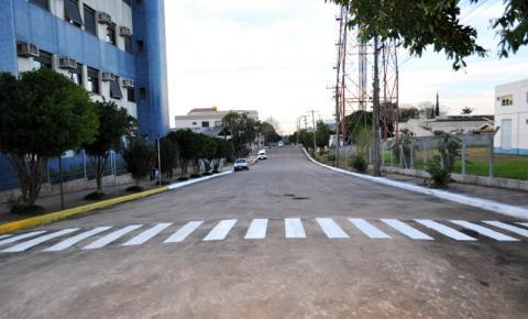 TRÊS PASSOS: RUA GENERAL OSÓRIO LIBERADA PARA CIRCULAÇÃO DE VEÍCULOS