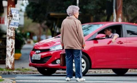 Dados mostram que idosos são principais vítimas do trânsito no RS