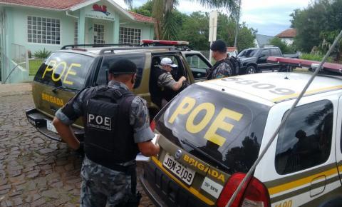 BM de Panambi e Ministério Público cumprem mandados de busca e apreensão