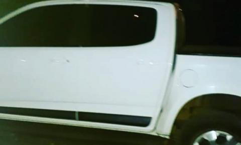 BM recupera caminhonete roubada em Três Passos