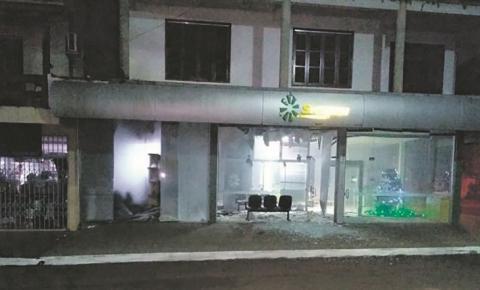 Agências bancárias de Redentora são atacadas