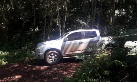 BM prende um homem por receptação e recuperaram uma caminhonete, em Seberi