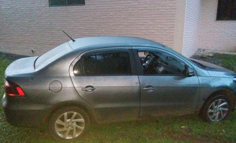 Brigada Militar recupera carro roubado