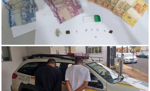 Brigada Militar realiza prisão por tráfico de drogas