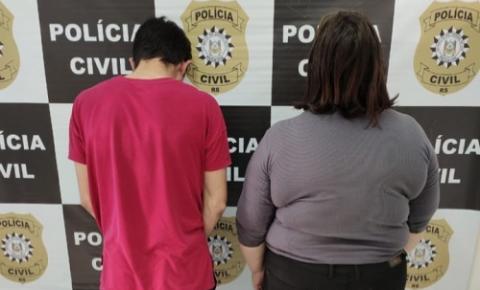 Um homem e uma mulher foram presos em Tenente Portela por tráfico de drogas