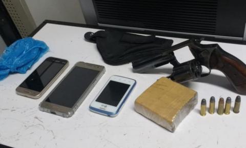 BM realiza prisão por tráfico de drogas e porte ilegal de arma de fogo em Frederico Westphalen