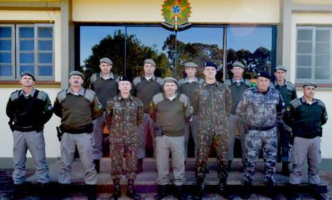 7° BPM recebe visita do Comandante do Exército Brasileiro