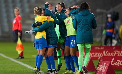 Seleção brasileira vence amistoso feminino