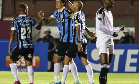 No retorno de Geromel e Maicon Grêmio vence no brasileirão
