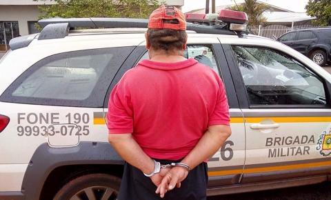 Brigada Militar prende procurado da justiça em Santo Augusto