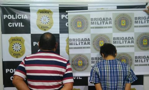 Polícia Civil de Três Passos cumprem mandados de busca e apreensão