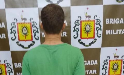 Brigada Militar prende homem por porte ilegal de arma de fogo em Vista Gaúcha