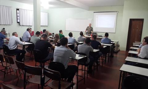 Brigada Militar de Três Passos promove encontro com gerentes de agências bancárias da Região Celeiro