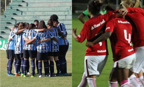 Domingo tem a Final do Campeonato Gaúcho Feminino de futebol: Inter x Grêmio se enfrentam no Estádio 19 de Outubro em Ijuí