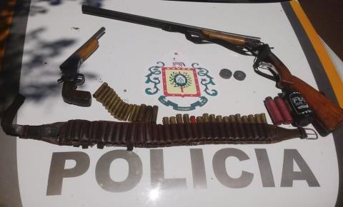 Brigada Militar prende suspeito de estupro e apreende armas de fogo e munições em Vista Gaúcha