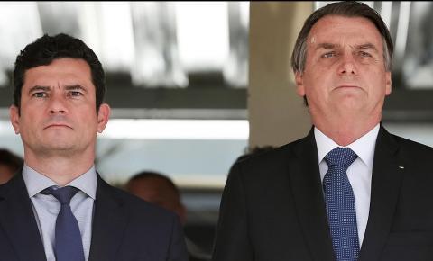 Bolsonaro diz que país estará em boas mãos se Moro for candidato em 2022