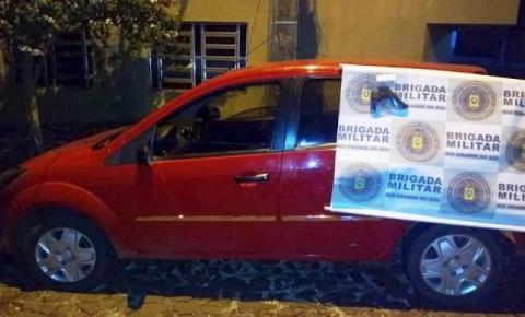 Brigada Militar prende autor de roubo de veículo em Três Passos