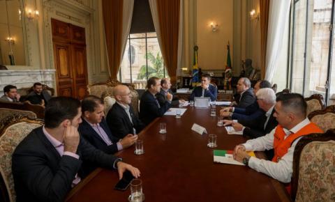 Governador recebe presidente da Fetag-RS para tratar de ações que amenizem efeitos da estiagem