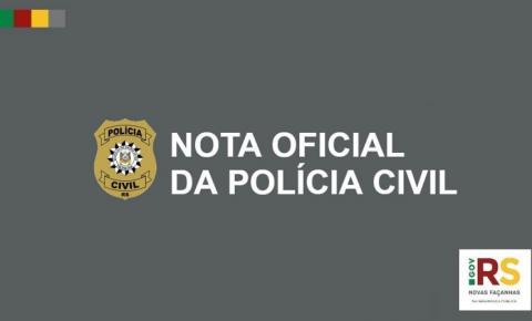 Polícia Civil alerta sobre golpes com uso de nomes de delegados e agentes da instituição