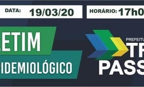 Boletim Epidemiológico Prefeitura de Três Passos.