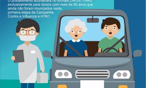 TRÊS PASSOS TERÁ ESQUEMA 'DRIVE-THRU' PARA A VACINAÇÃO CONTRA GRIPE