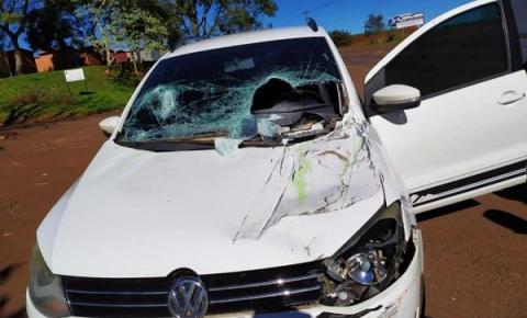 Acidente de trânsito é registrado em Tenente Portela