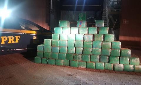 PRF prende traficante com quase uma tonelada de maconha