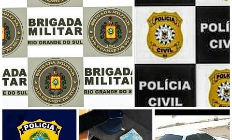 Ação Integrada BM, PC e PRF prende autores do conto do bilhete premiado