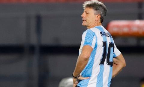 Homenagem da dupla GreNal a Maradona repercute na imprensa Argentina