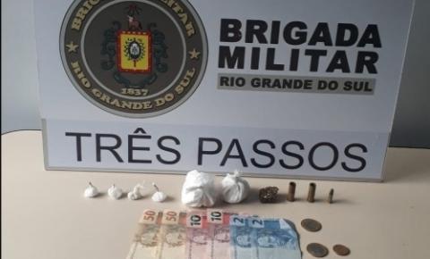 Dois homens são presos por tráfico de drogas em Três Passos