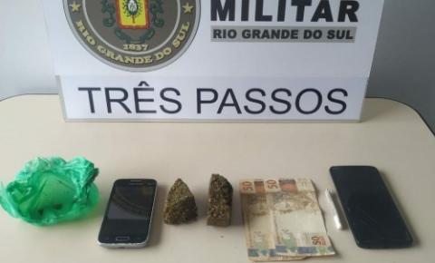 Homem é preso em Três Passos por tráfico de drogas