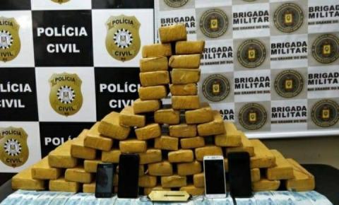 Quatro homens são presos por tráfico de drogas
