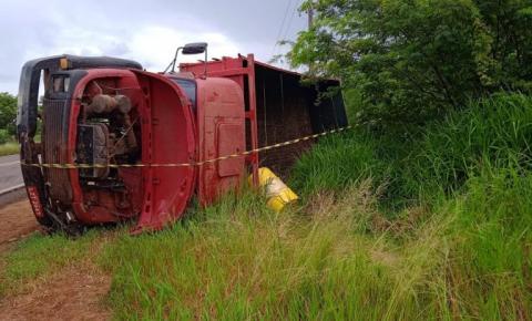 Saída de pista com vítima fatal em Palmitinho