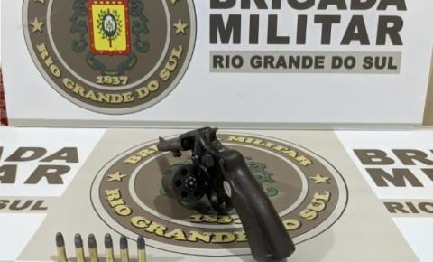 7º BPM prende indivíduo por porte ilegal de arma de fogo em Tenente Portela