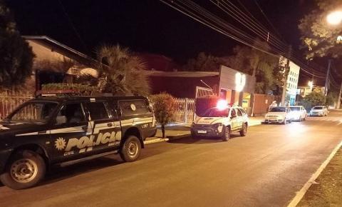 Brigada Militar, Polícia Civil e Fiscalização Municipal realizam ações de enfrentamento ao Covid-19 em Campo Novo