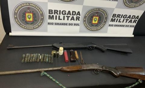 Armas e munições são apreendidas em Braga durante ocorrência de violência doméstica