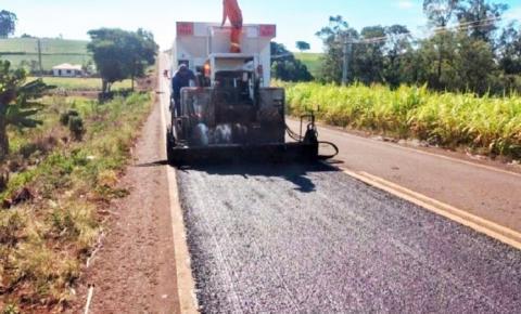 Obras em estradas do Noroeste favorecem transporte agrícola