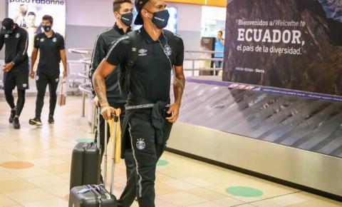 A Conmebol transferiu a partida entre Grêmio e Independiente Dell Valle e Grêmio inicia viagem do Equador para o Paraguai