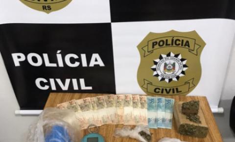 Homem foi preso por tráfico de drogas no Bairro Pró-Morar em Três Passos