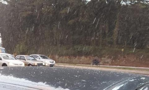Queda de neve é registrada em pelo menos 11 cidades gaúchas