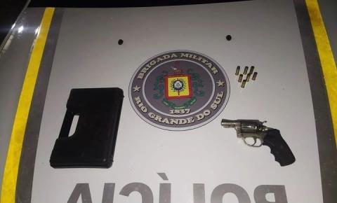 Brigada Militar prende homem por porte ilegal de arma de fogo em Humaitá